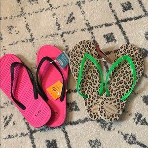 Shoes - NWT Flip Flops
